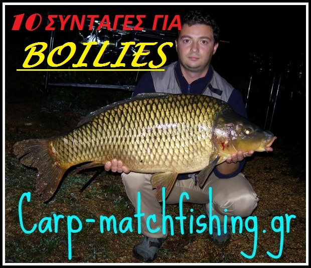 carp gia syntages boilies