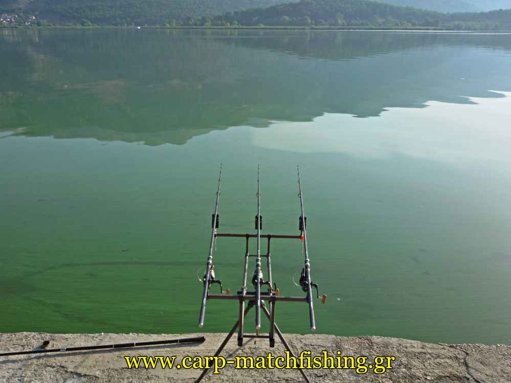 rod-pod-pamvotida-lake-carpmatchfishing