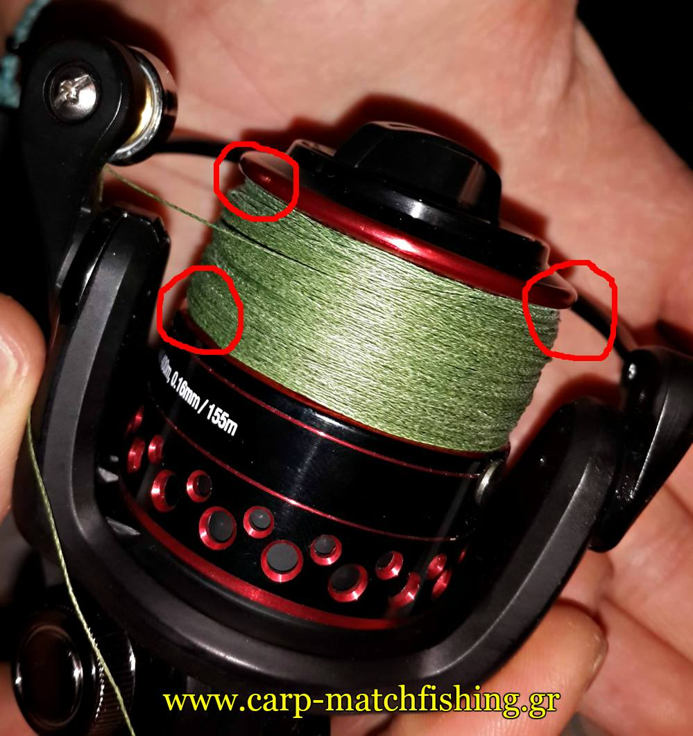 braid-spool-with-problems-bird-nests-carpmatchfishing