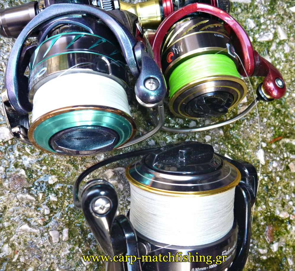 spinning-reels-spools-with-braid-carpmatchfishing