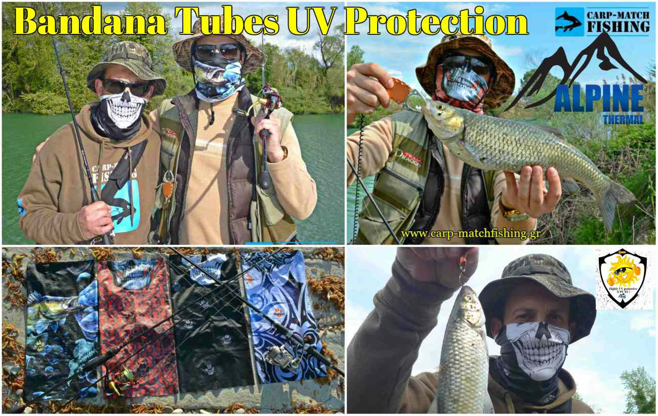 bandana tubes uv protection live test alpine thermal carpmatchfishing