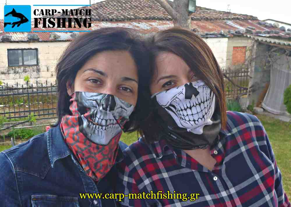 skulls 2 girls bandana tube alpine thermal carpmatchfishing