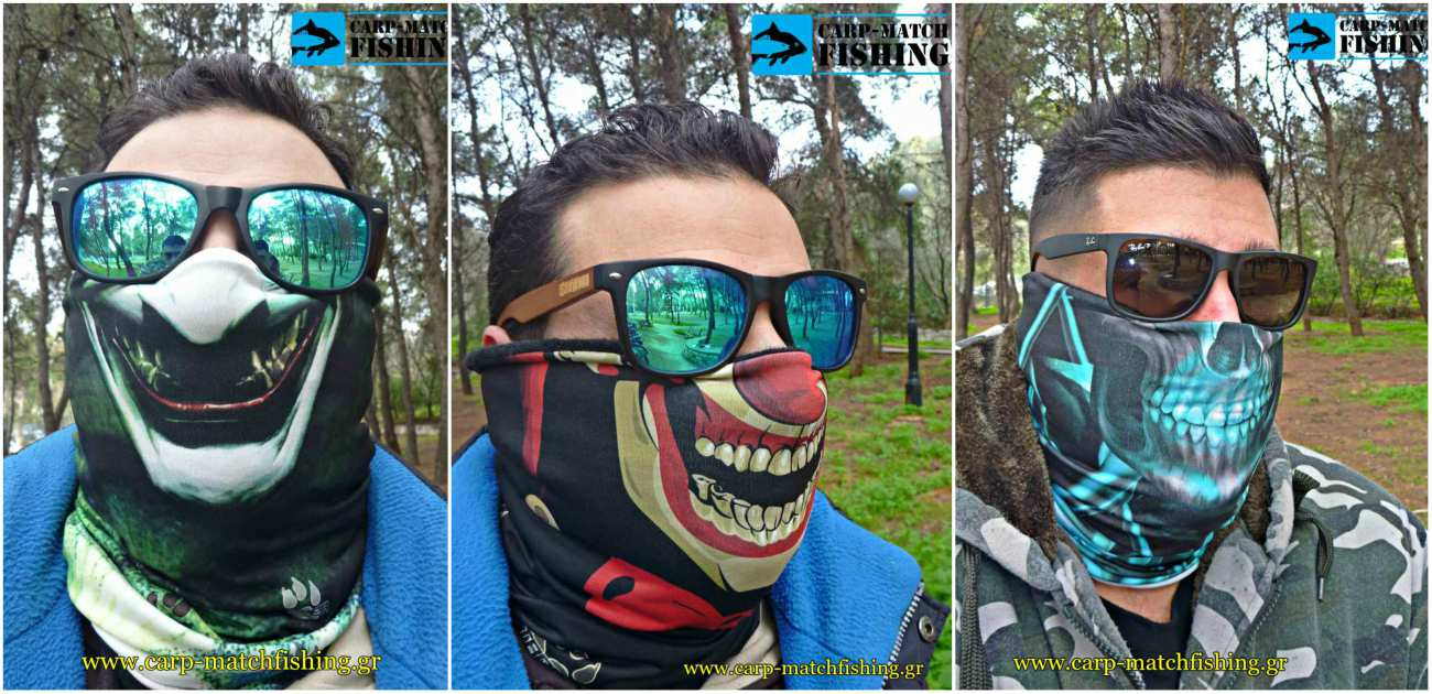 3 troper masks fishing carpmatchfishing