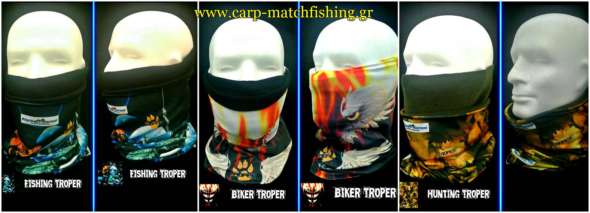3 troper biker fishing hunting carpmatchfishing