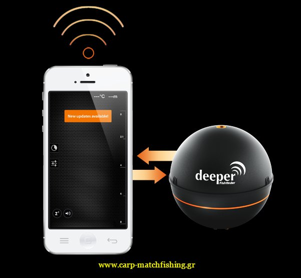 wireless sonar updates available for smartphones tablets-carpmatchfishing