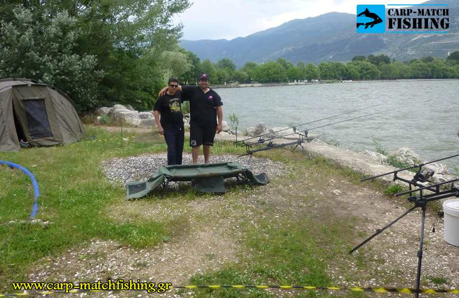 agonas giannena skini carpfishing carp pamvotida lake carpmatchfishing