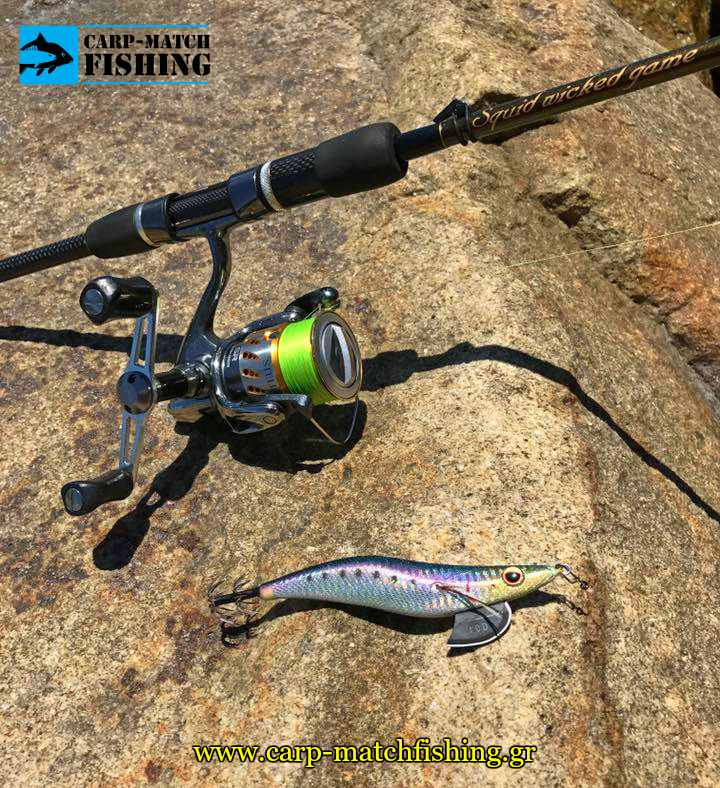 squid jig actions rod breaden pleyseis psarema kalamariou eging carpmatchfishing