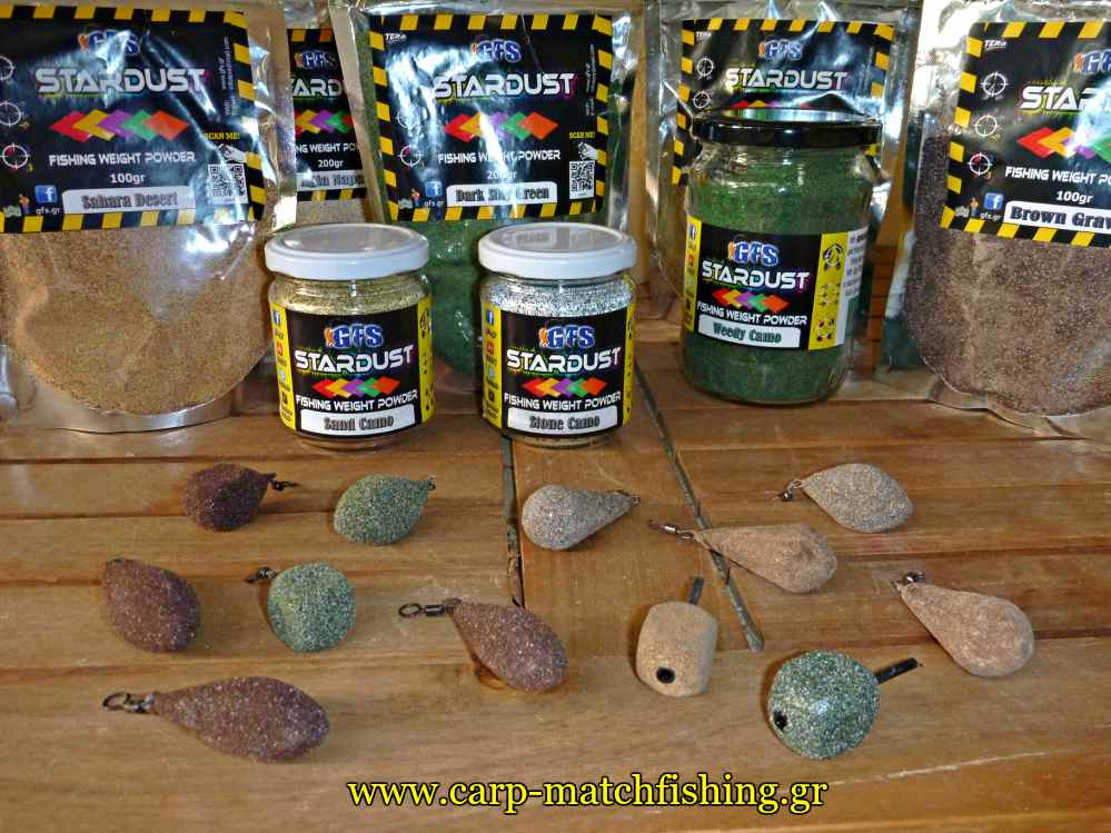 coated carp leads stardust carpmatchfishing