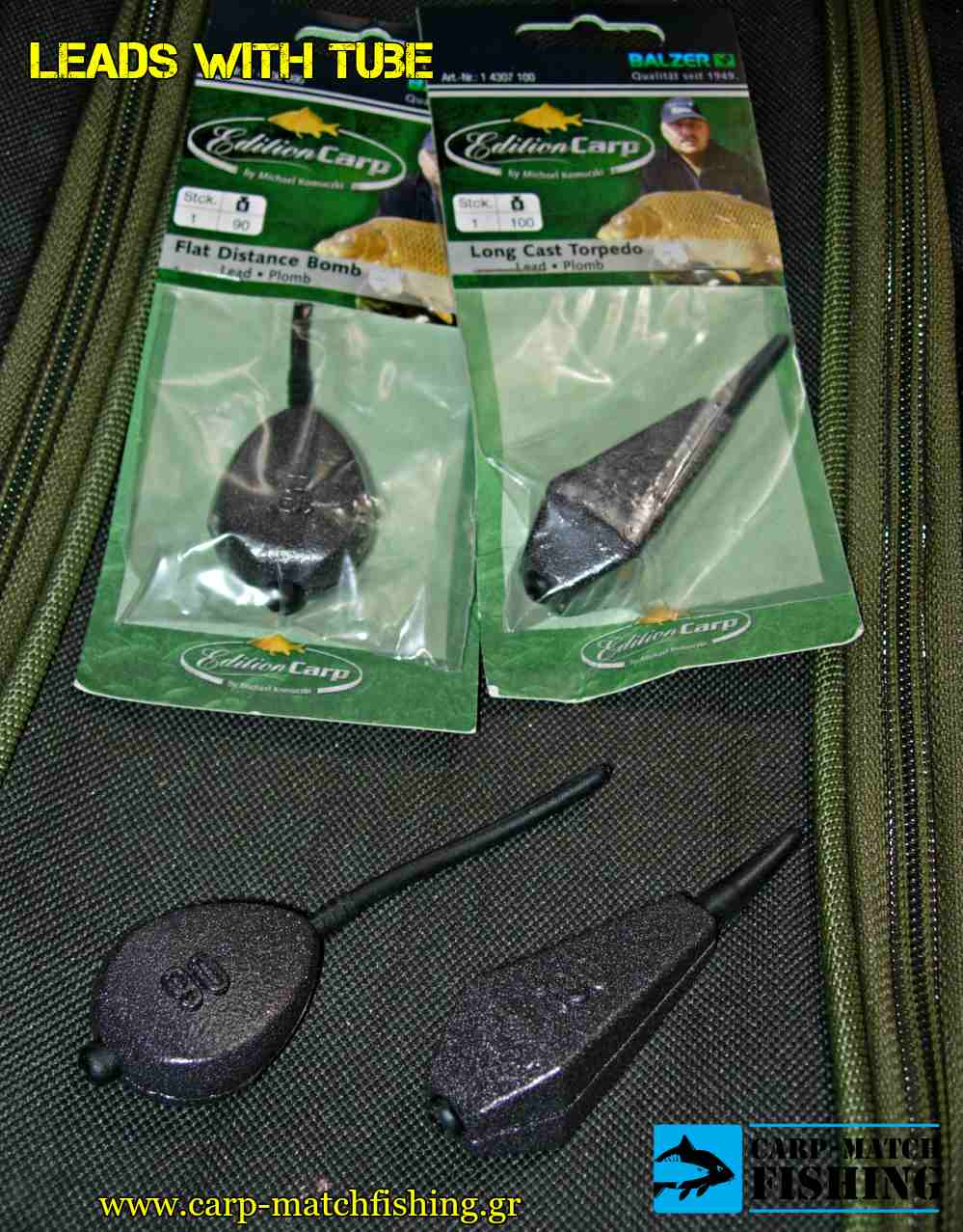 leads with tube baridia me solinaki carpmatchfishing