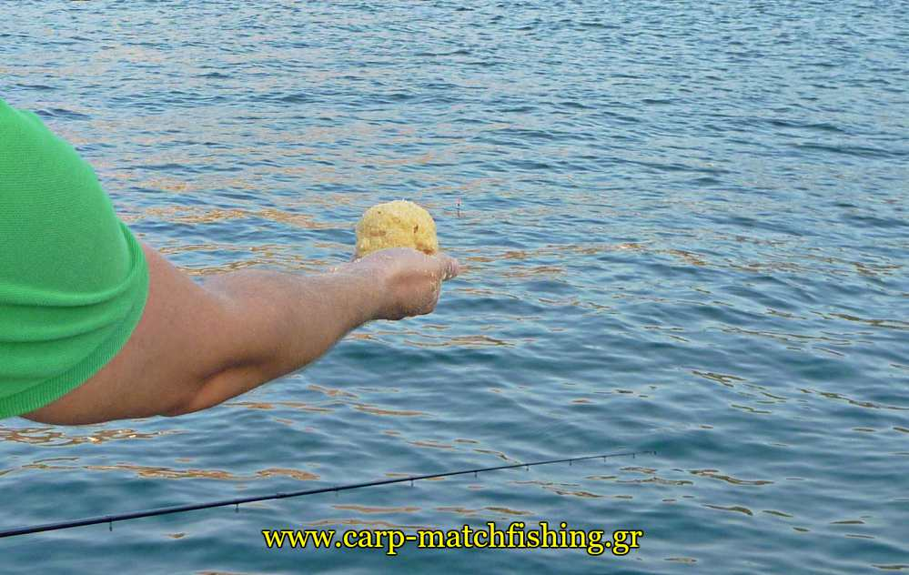 groundbait-ball-angry-fish-melanouria-carpmatchfishing