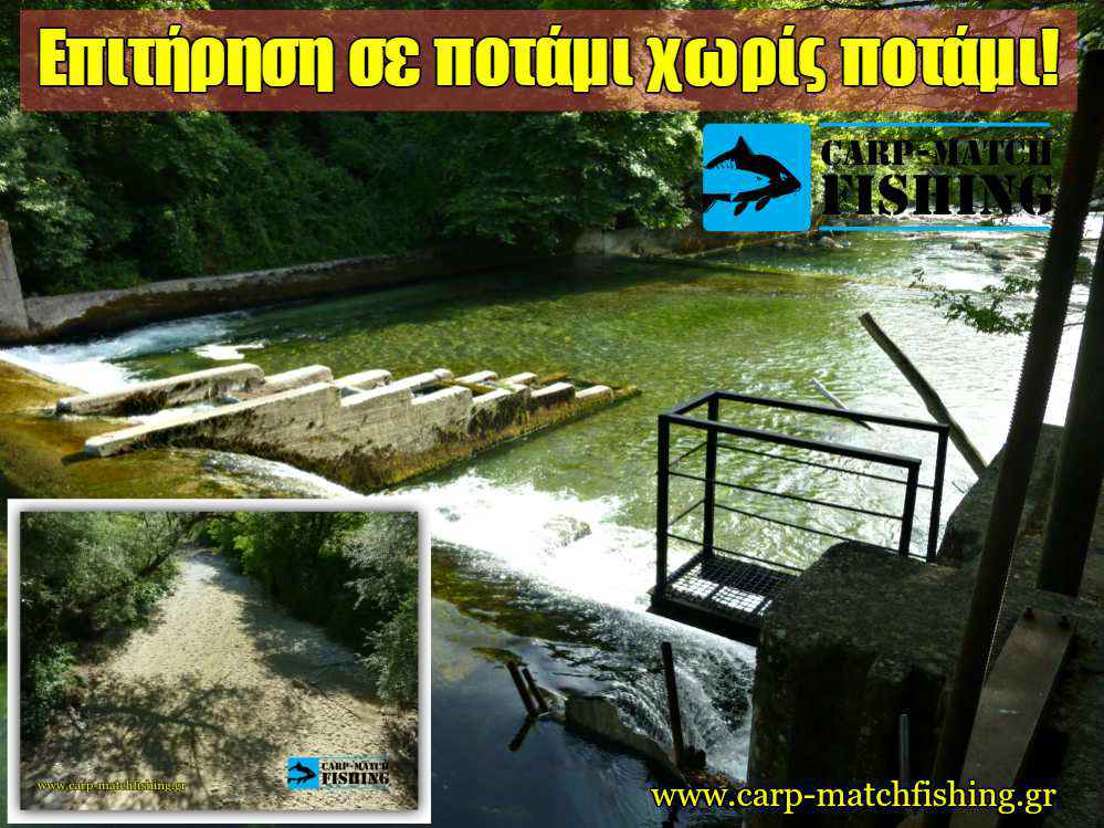 potami xoris potami epitirisi carpmatchfishing