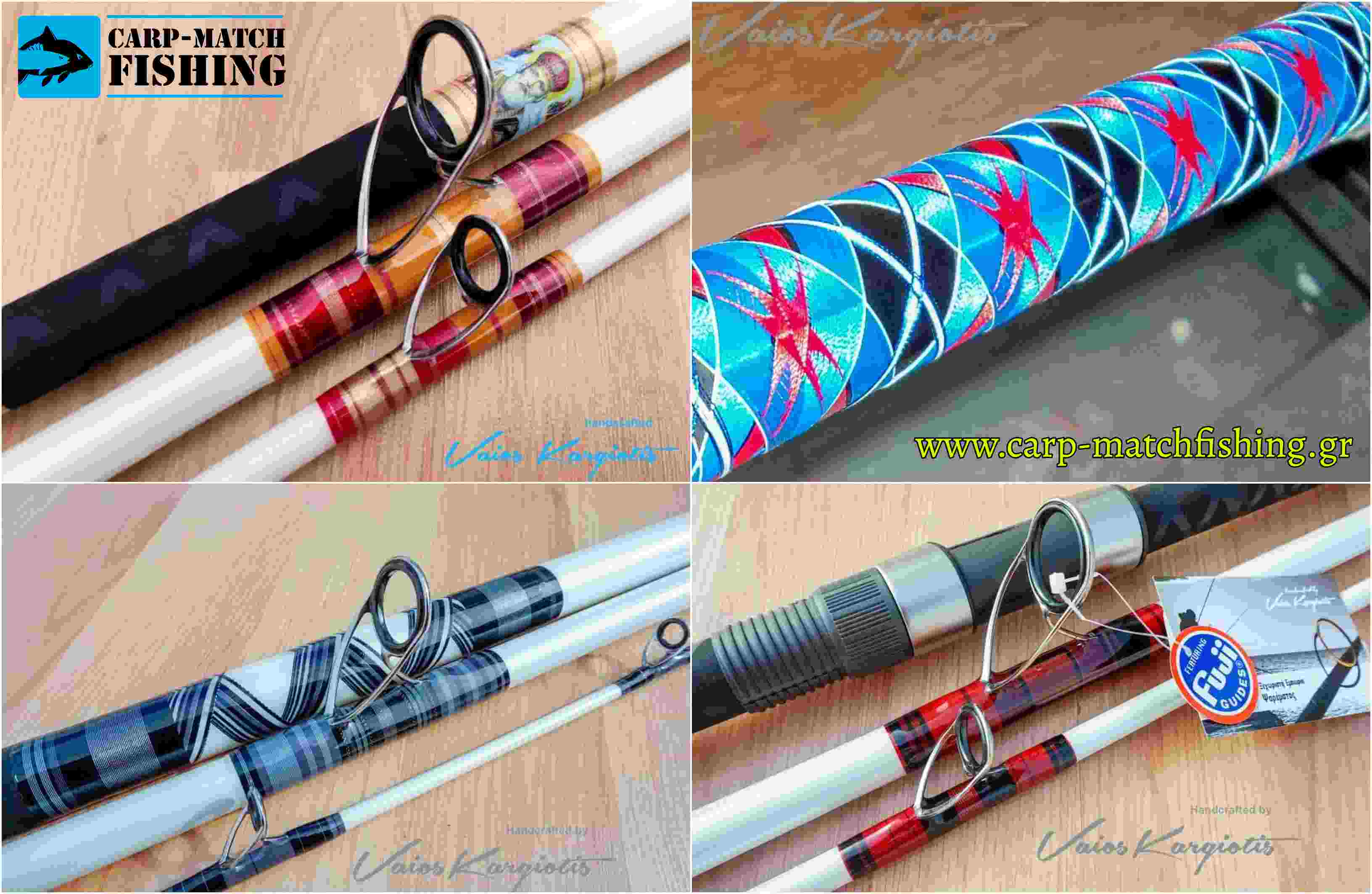 blanks 1 rodbuilding vaios kargiotis cross wrap carpmatchfishing