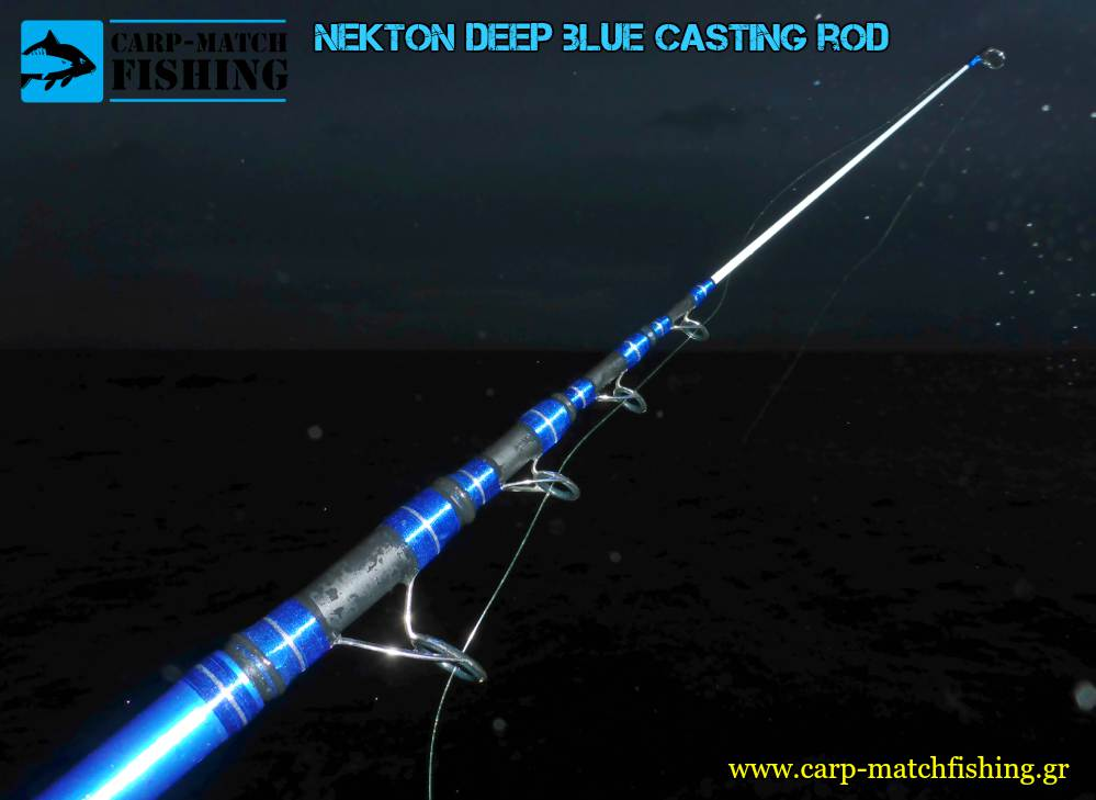nekton deep blue guides casting rod carpmatchfishing