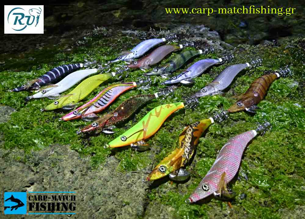 rui squid jigs all carpmatchfishing