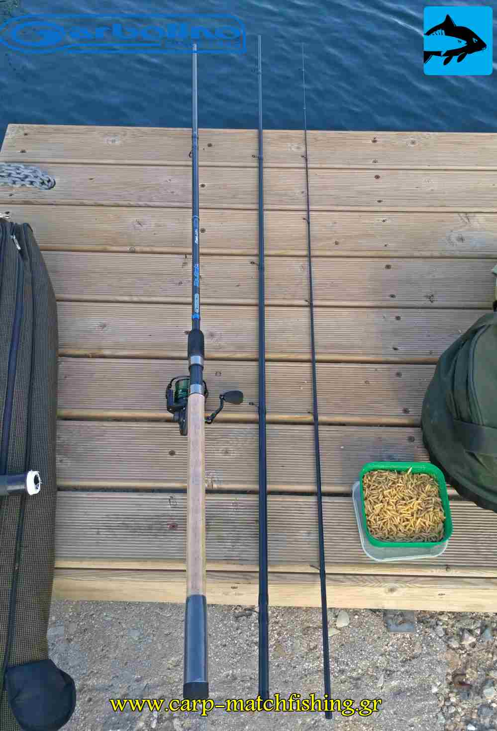 garbolino 3 section match rod carpmatchfishing
