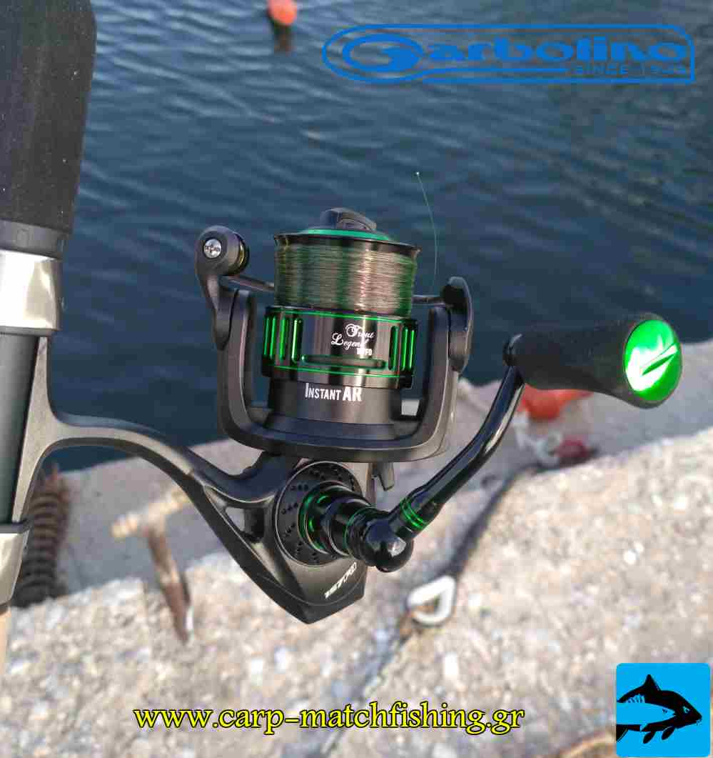 garbolino reel trout carpmatchfishing