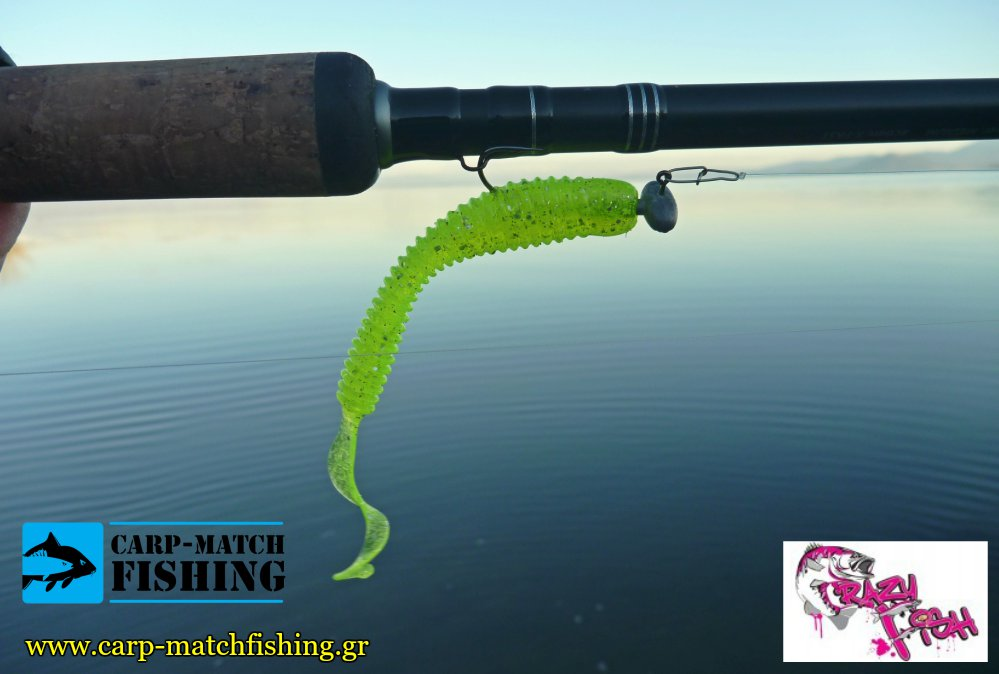 crazy fish active slug rod silikoni carpmatchfishing