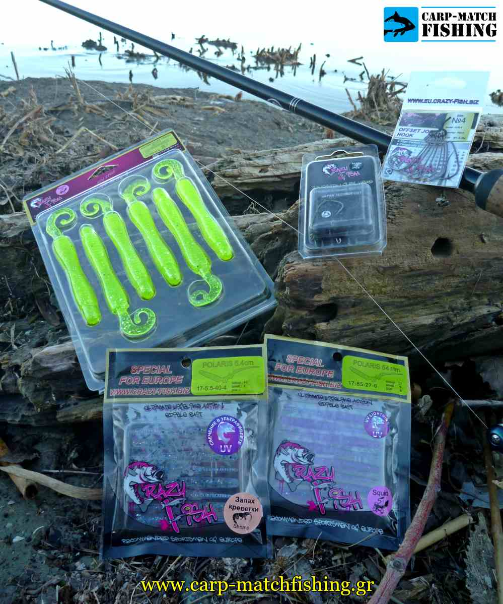 crazy fish silikones polaris slug carpmatchfishing